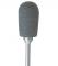 P0665B Kunststoffpolierer Birne HP grau, 6 x