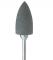 P0666B Kunststoffpolierer Flamme HP grau, 6 x