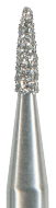 Diamantbohrer Flamme 3,0 mm lang Form 882